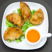 Gyoza frito de cerdo (4 uds.)