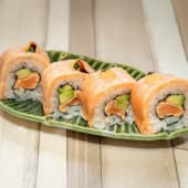 Salmon Flameado roll (8uds.)