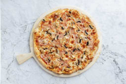 Pizza Pollo e bacon