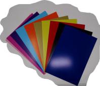 Cartulina Brillante Colores 210Grs Oficio Pqtx10Hjs