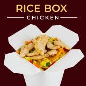 Grillowany filet z kurczaka z warzywami z ryżem