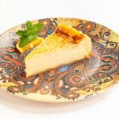 Tarta De Queso Con Caramelo Toffee.