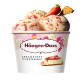 Minitarrina Haagen-Dazs - Strawberry & Cheesecake
