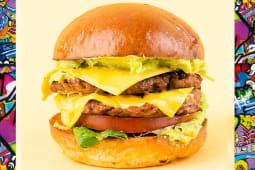 Дабл Мехіко бургер з гуакамоле (300г)