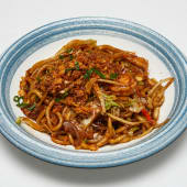 #20 Udòn de arroz salteado al Wok