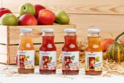 Сік яблучно-малиновий Ньютон (250мл)