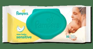 pampers lingettes sensitive 70