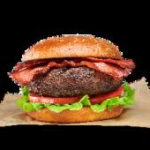 Bacon burger de ternera