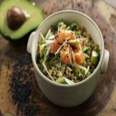 Grain bowl de salmón