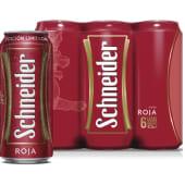 Sixpack Schneider Roja Lata 473 Ml