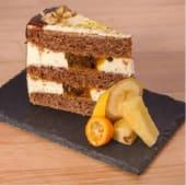 Colibri cake con maracuyá (ración)
