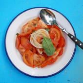 Ensalada de tomate de temporada