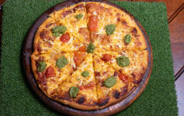 Brew Margherita Pizza (12 inches).