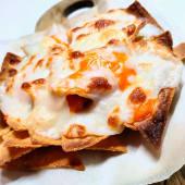 Nachos 3 quesos