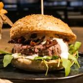 Tartare Burger + Birra