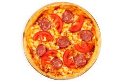Піца Пеппероні фреш з томатами