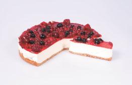 Tarta de queso y frutos rojos (8 porciones)