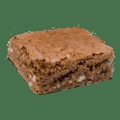 Brownie con trozoz de nuez