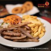Menu 11 - Prato de Porco Preto Grill