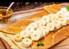 Креп з бананом і медом (300г)
