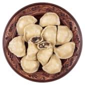 Вареники з грибами та сиром моцарела (8шт)