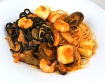 Spaghetti duo mare y monti