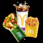 Meniu Maxi Crispy Chicken McWrap™