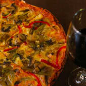 Pizza Vegetariana (Personal)