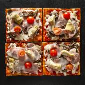 Pizza Caprichosa (4 pzs.)