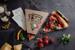 Felie  pizza ungherese