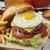 Бургер Карбонара (430г)