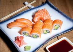 Salmon Menu