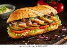 Chicken Baguette Sandwich