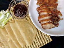 Hrskavo pečena patka s palačinkama