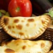 Empanada de zapallo y queso