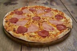 """პიცა """"სალიამი-ლორი"""""""