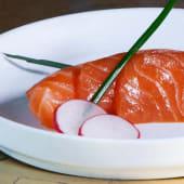 Sashimi sake 6 pezzi