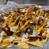 Nachos delorean tex