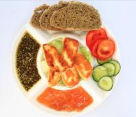 Assiette de Halloum Grillé