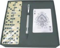 Domino+baralho Cartas+esferografica 061