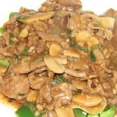 Stir Fried Pork With Mushroom
