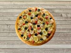 Pizza Double Pêcheur - Pâte Traditionnelle