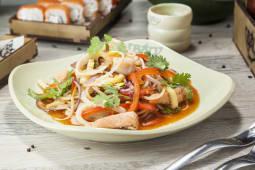 Wok-лапша с морепродуктами