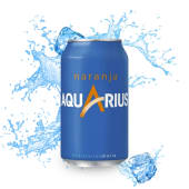Aquarius Naranja (33 Cl.)