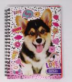 Cuaderno Espiral A4 200Hjs Cuadros Economico Estilo