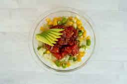 Spicy tuna poke