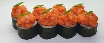 Спайс рол с лососем (300г)