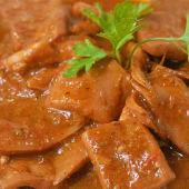 Potas en salsa
