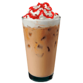Iced Cramberry Mocha Blanco