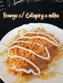 Frango Catupiry e milho